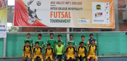 Inter College Hospitality Futsal Tournament, 2020