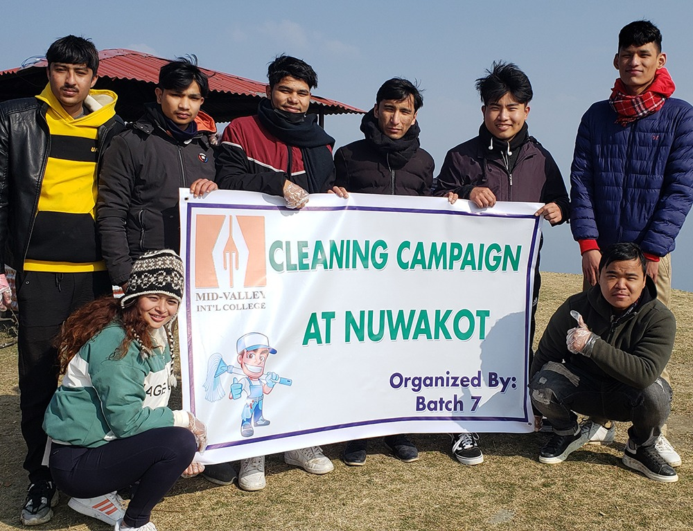 Cleaning Campaign of PATA destination