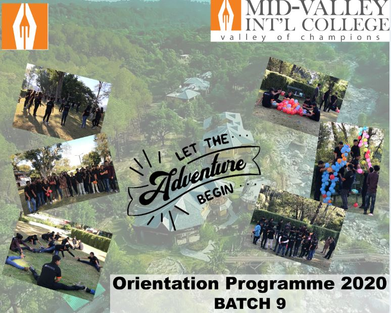 Orientation Program – For Batch 9