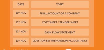 Accountancy Crash Course