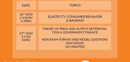 Economics Crash Course